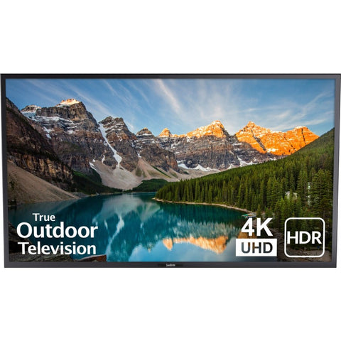 SunBriteTV Veranda Series 65-Inch 4K HDR Full Shade Outdoor TV (Black)