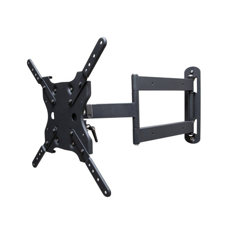 SunBriteTV Single Arm Articulating Mount for 26-65 in. Medium Displays (Black)