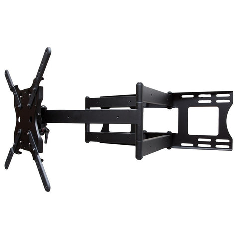 SunBriteTV Dual Arm Articulating Mount for 37-80 in. Large Displays (Black)