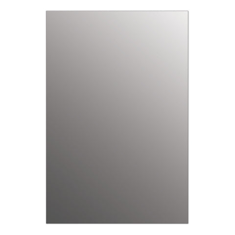"Seura Halo 24"" x 42"" LED Lighted Bathroom Wall Mounted Dimmable Mirror"