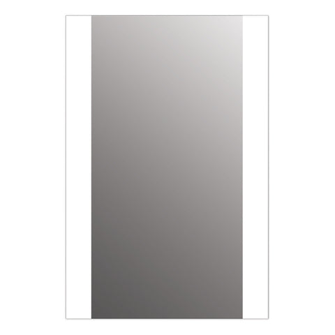 "Seura Veda 30"" x 36"" LED Lighted Bathroom Wall Mounted Dimmable Mirror"