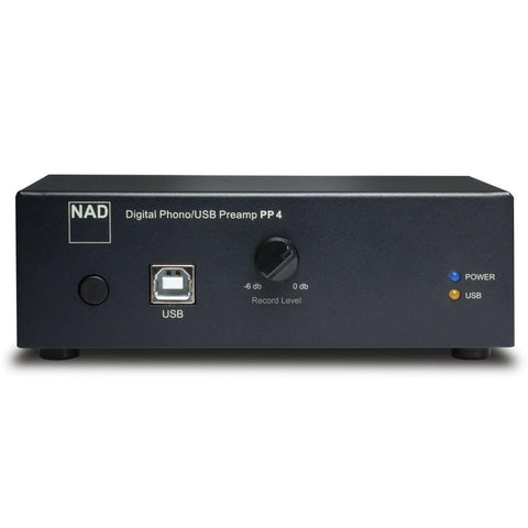 NAD Electronics PP 4 Phono to USB Preamplifier (Black)