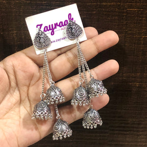 Triple Layer Jhumki 1