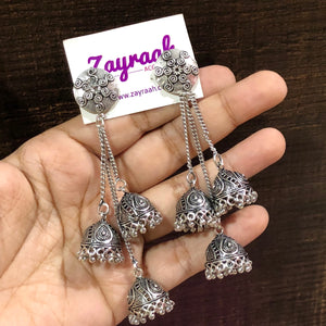 Triple Layer Jhumki 3