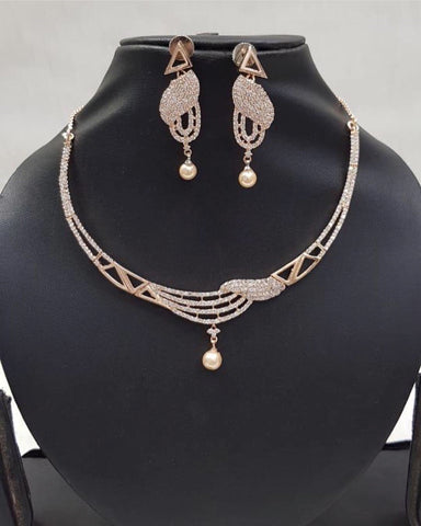 Rose Gold Neckpiece 3