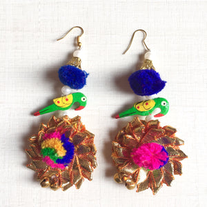 Gota Earrings 1