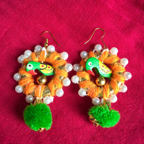 Gota Earrings 2