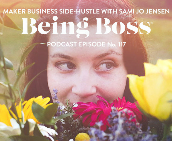 Have You Heard? Florapothecarie is on the Being Boss Podcast!