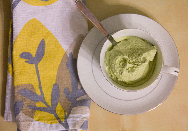 Recipe: Vegan Matcha Green Tea Ice Cream
