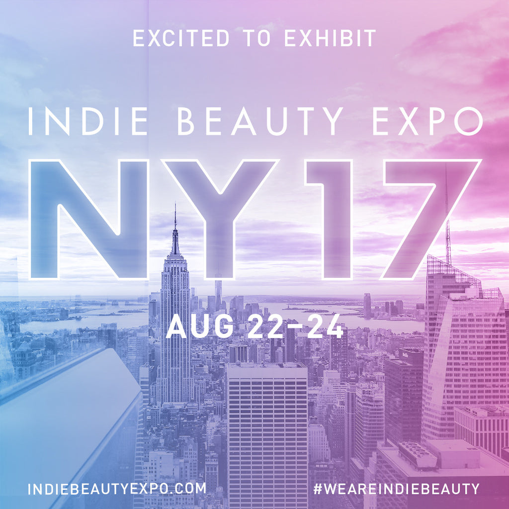 florapothecarie is going to Indie Beauty Expo NY!