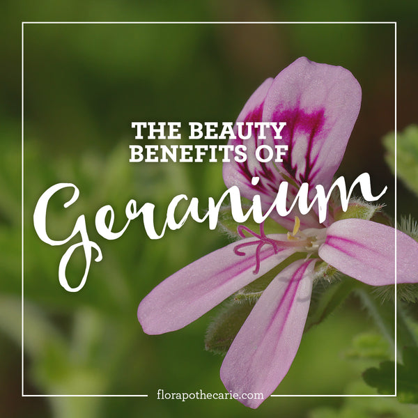 Ingredient Love: Geranium