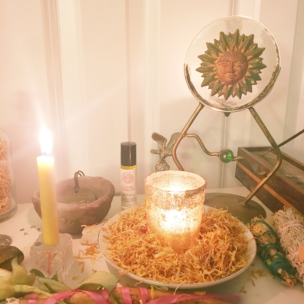 Creative Energy Ritual for Midsummer / Summer Solstice