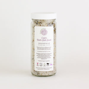 Load image into Gallery viewer, Calm | Floral Bath Salt Soak