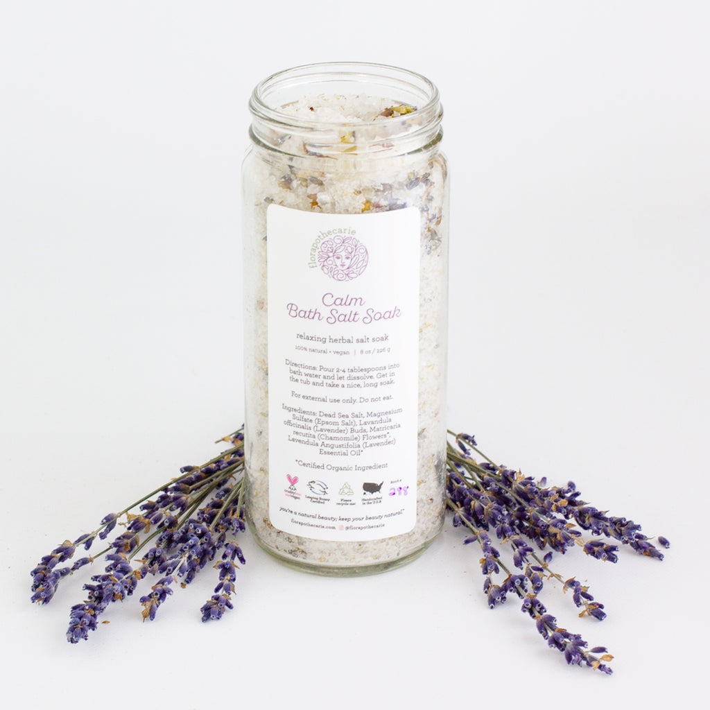Calm | Floral Bath Salt Soak