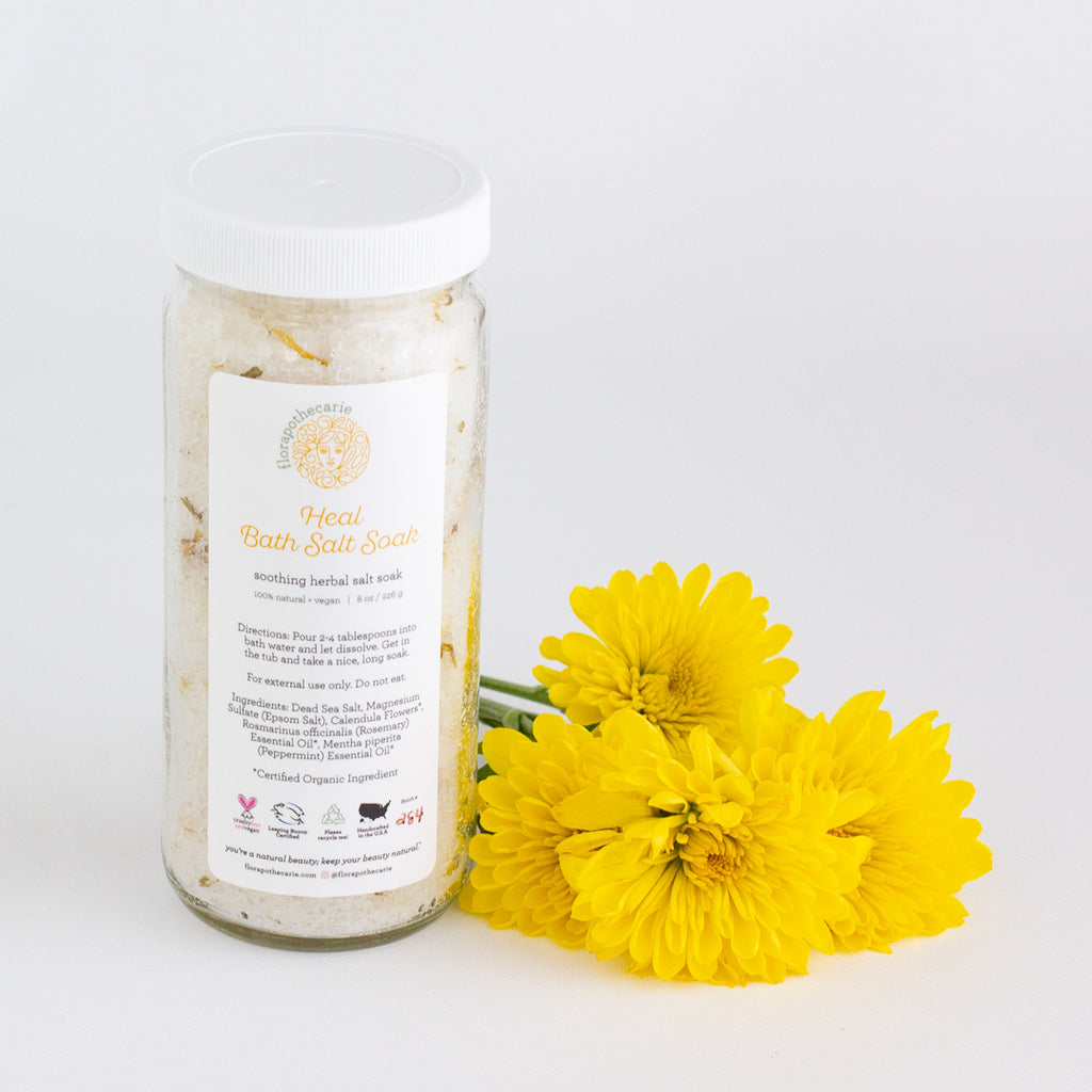 Heal | Floral Bath Salt Soak