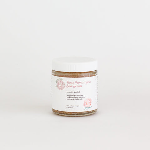 Rose Himalayan Salt Scrub