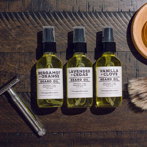 Vanilla + Clove Beard Oil