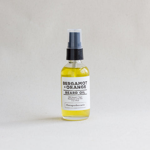 Bergamot + Orange Beard Oil