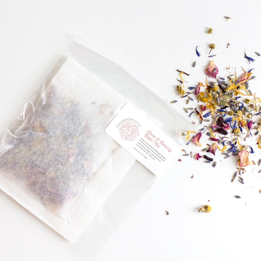 Love & Beauty | Bath Tea & Facial Steam
