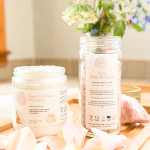 Rose & Coconut Milk Bath