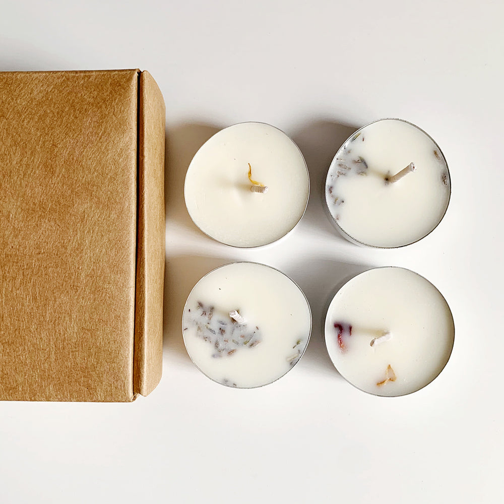 Floral Tealight Box Set