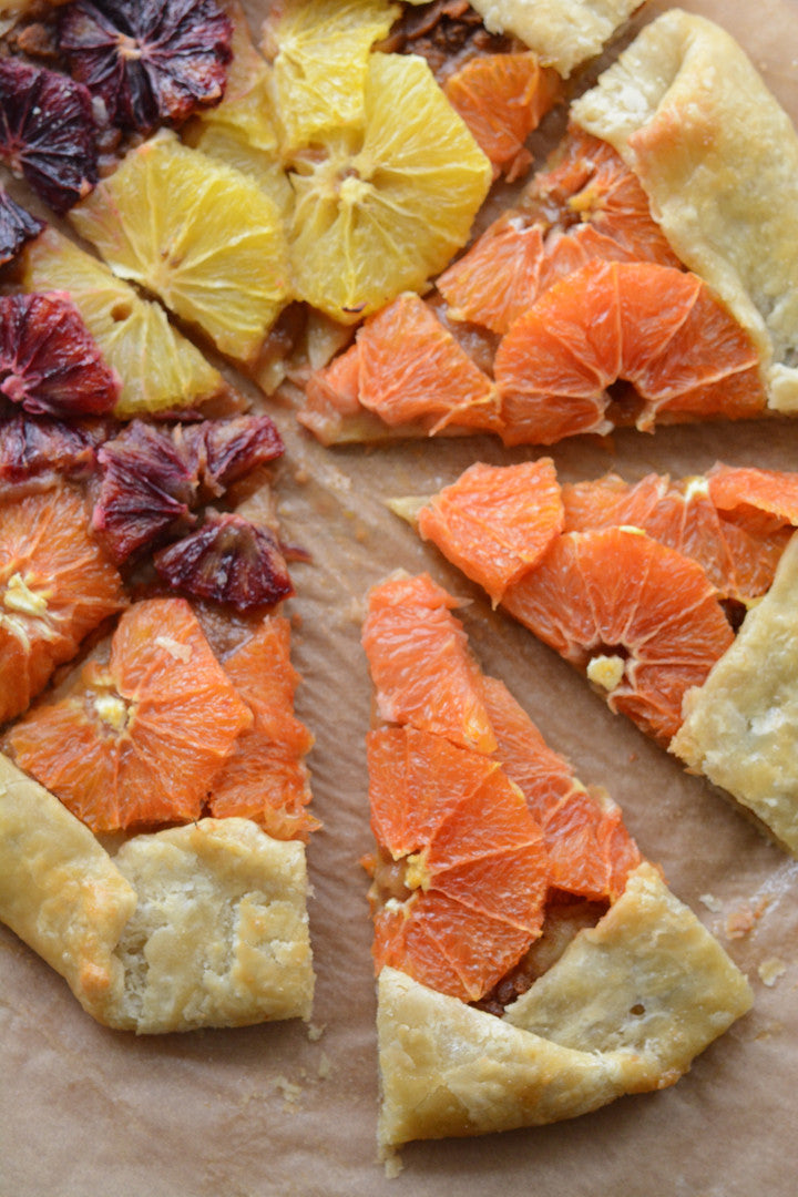Citrus Honey Galette