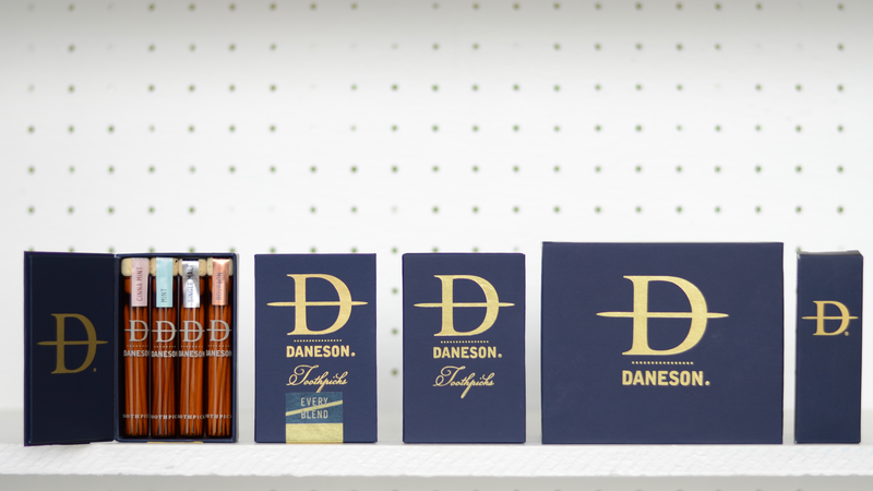 New Brand: Daneson Toothpicks