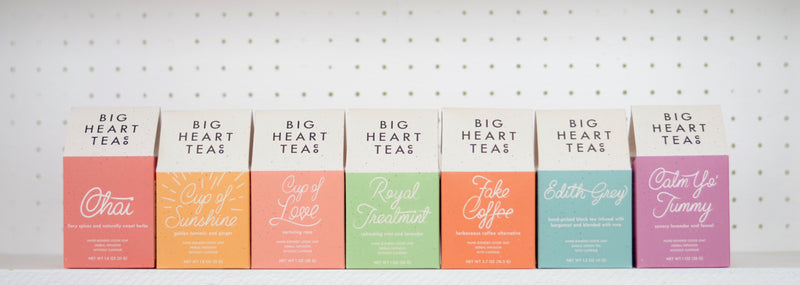 New Brand: Big Heart Tea Co.
