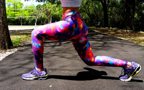Colour Mix Brazilian Lycra leggings