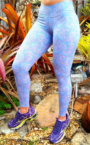 Paisley Brazilian Lycra Leggings
