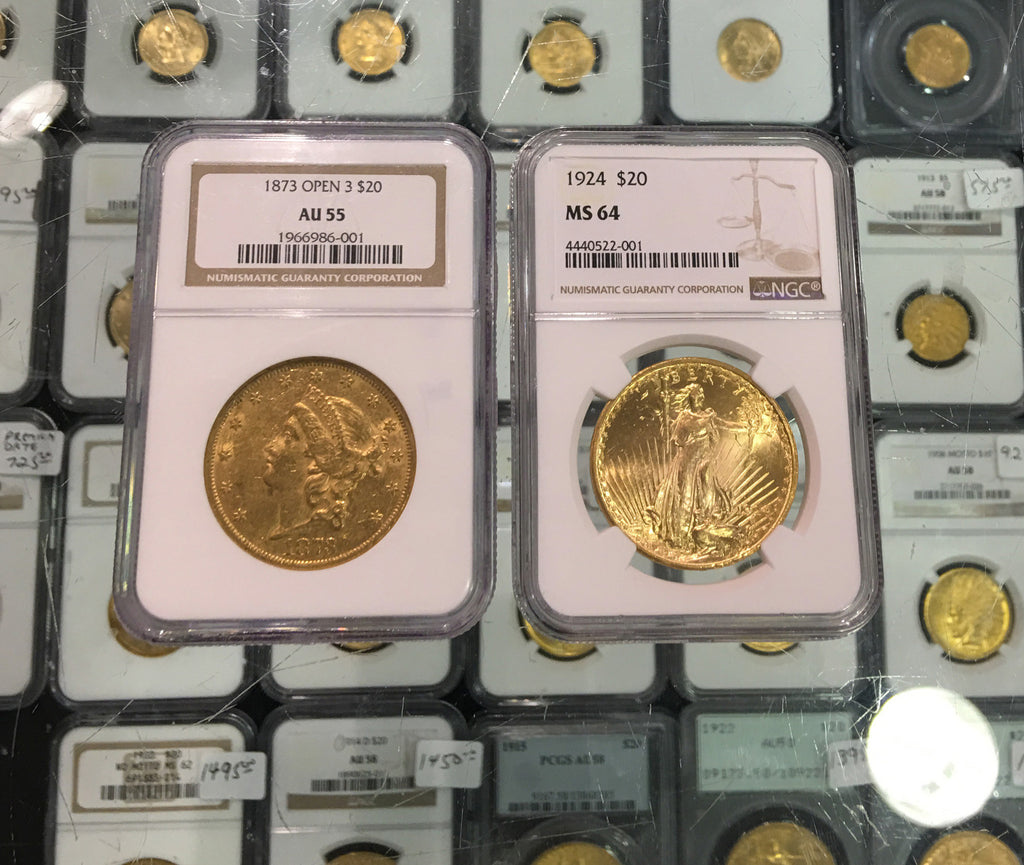 United States $20 Gold Double Eagle – Golden Potential in a Falling Market