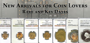 Rare Coins, New Acquisitions - June 2017