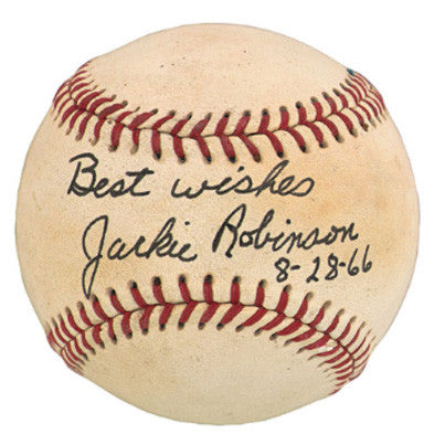 Jackie Robinson Defining History And Autograph Collections