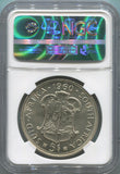1960 South Africa 5 Shillings. Union Anniversary. NGC MS63