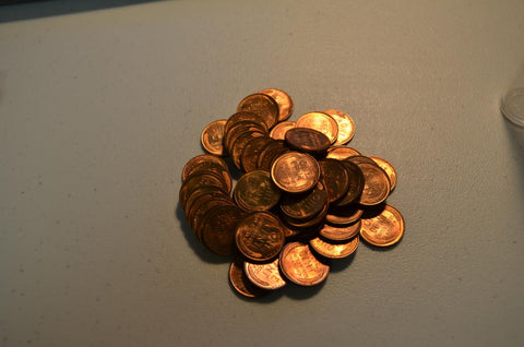 1946 P Roll of Uncirculated Lincoln Cents. 50 Coins. Gem BU