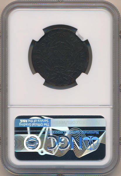1795 Plain Edge Large Cent, S-78. NGC XF Details
