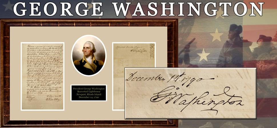 George Washington Signed Document