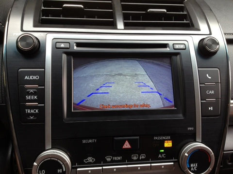 2012-2015 Toyota/Scion Back-up Camera Integration