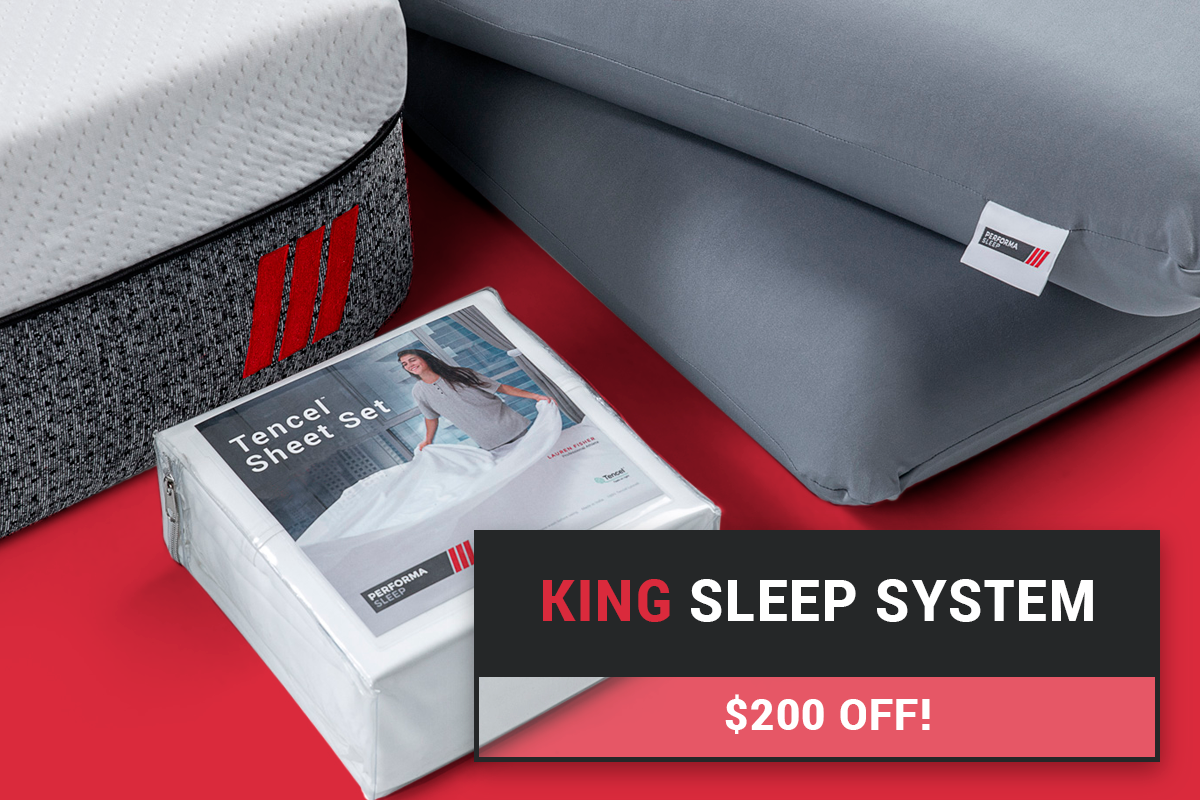 PerformaSleep™ King Sleep System