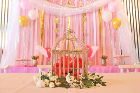 Princess Birthday Party Backdrop