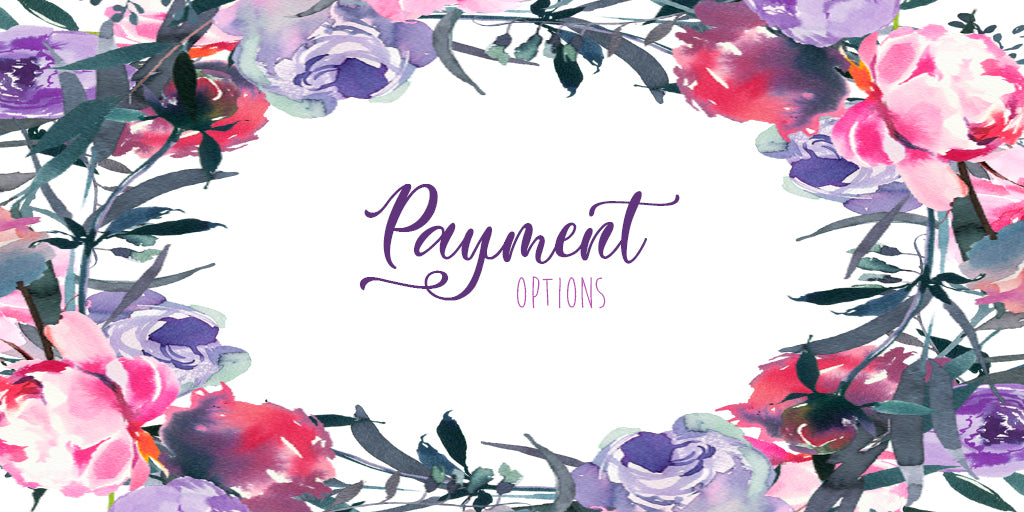 Wedding Shop Payment Options Deposit