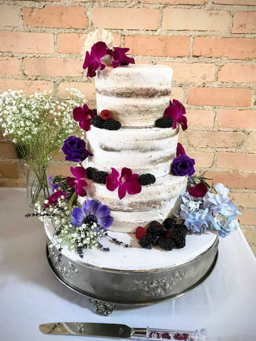 semi naked wedding cake fatty patty
