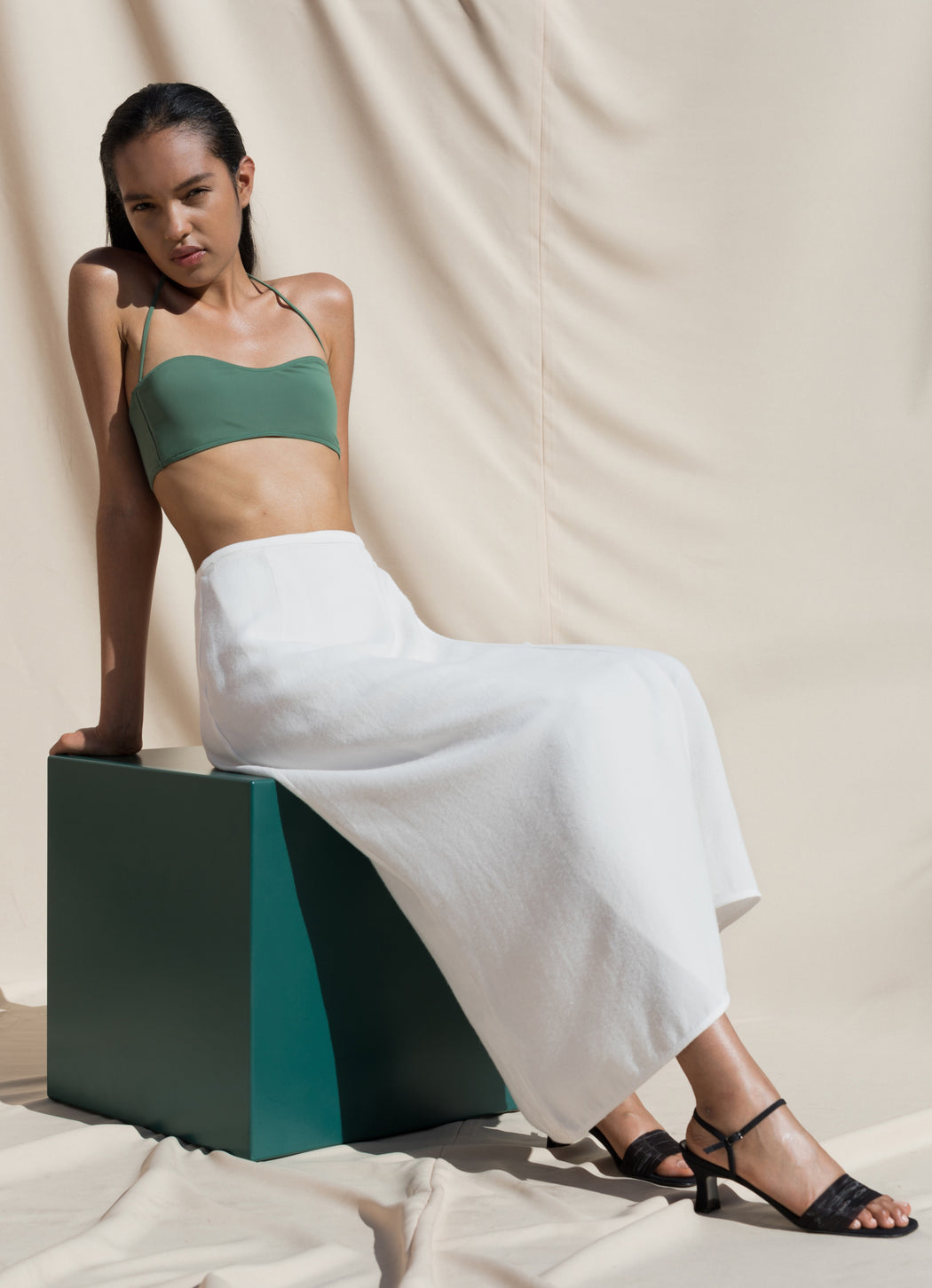 Isola Two Piece Swimsuit - Jade