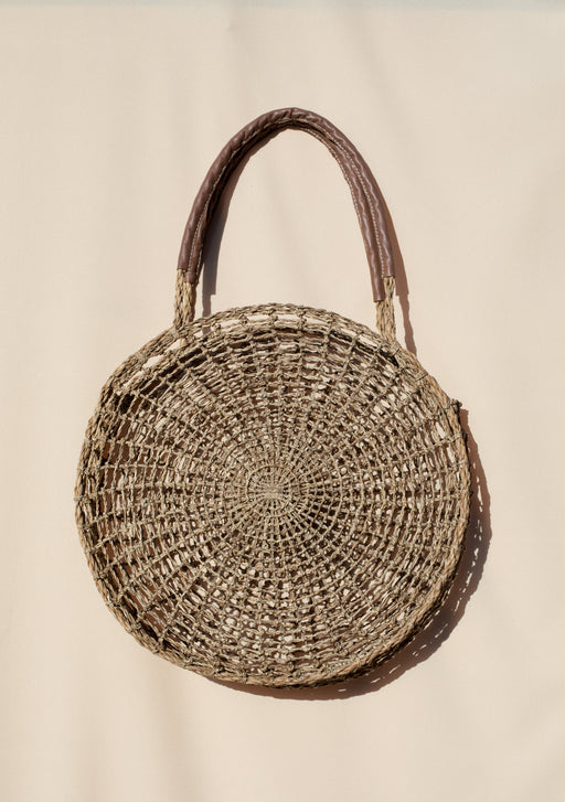 Circle Market Tote - Natural