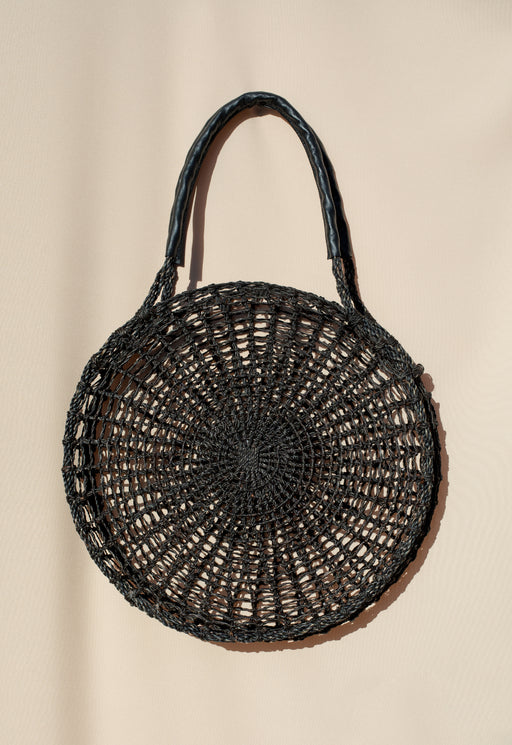 Circle Market Tote - Black