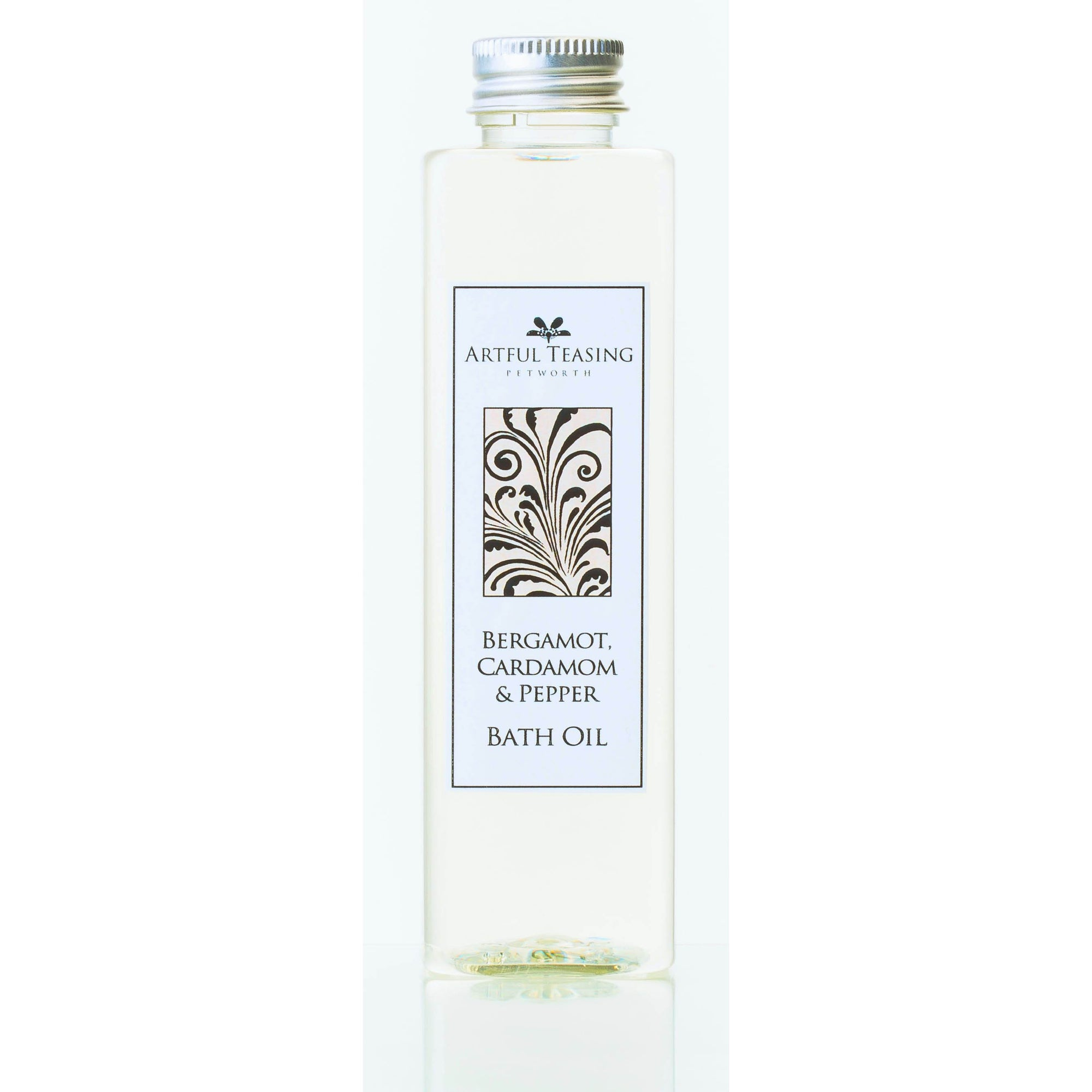 Bergamot, Cardamom & Pepper Bath Oil 200ml