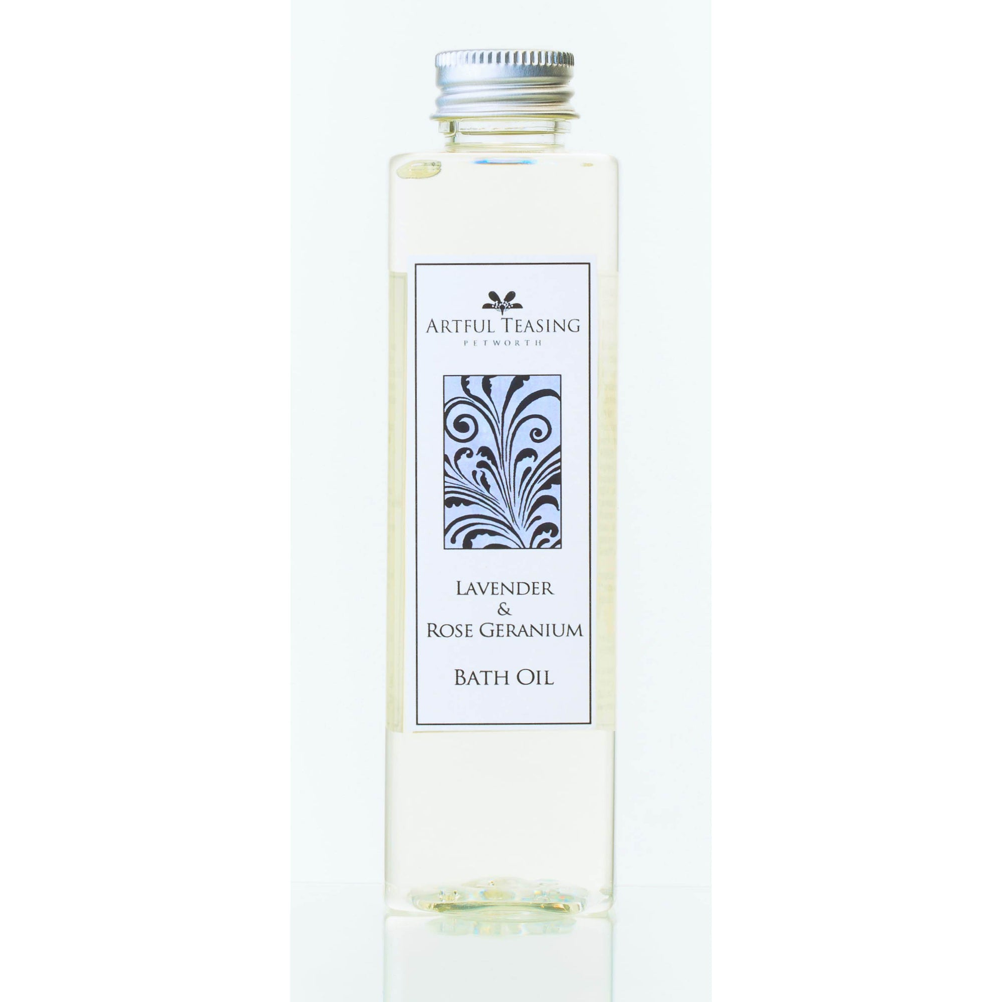 Lavender & Rose Geranium Bath Oil 200ml