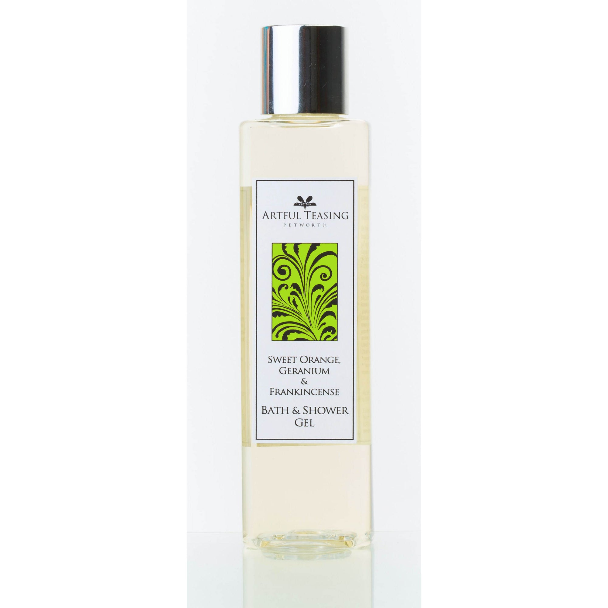 Sweet Orange, Geranium & Frankincense Bath & Shower Gel 200ml