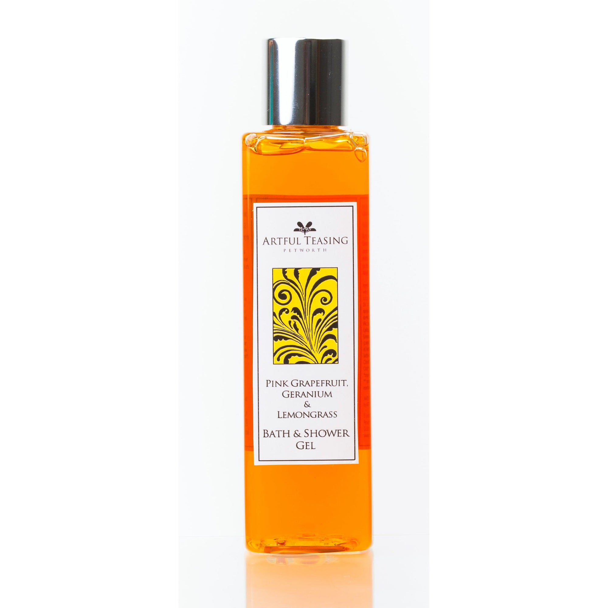 Pink Grapefruit, Geranium & Lemongrass Bath & Shower Gel 200ml