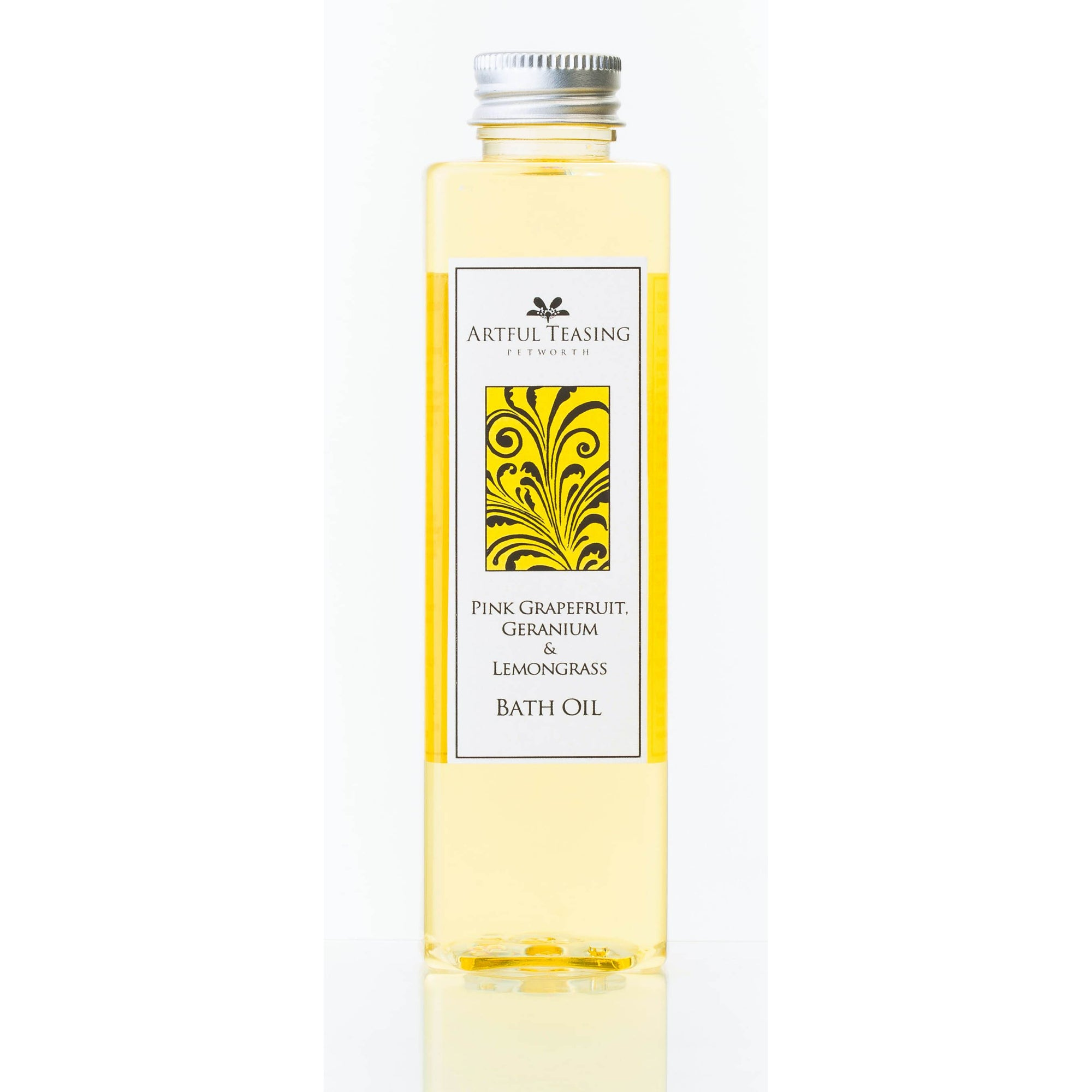Pink Grapefruit, Geranium & Lemongrass Bath Oil 200ml